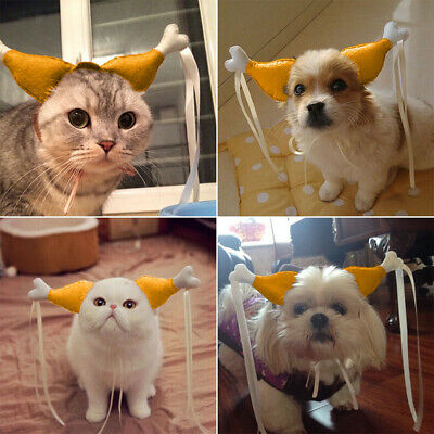 NEW For Pet Dog Cat Puppy Headdress Headwear Halloween Party Cosplay Accessories