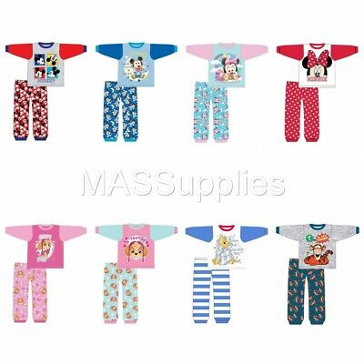 Baby Boys Girls Mickey Mouse Licensed Disney Pyjamas Pajamas Gift 6-24 Months