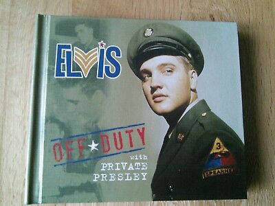 Elvis Off Duty With Private Presley CD Booklet