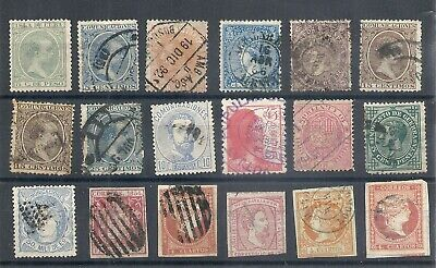 Spain selection old stamps