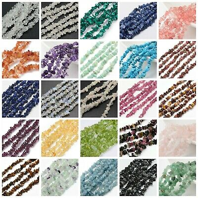 Gemstone Chip Nugget Beads 1 Strand Premium Quality BUY 4 GET 1 FREE!