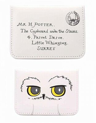 Genuine Harry Potter ID Card Holder Travel Oyster Bus Train Warner Bros Hogwarts