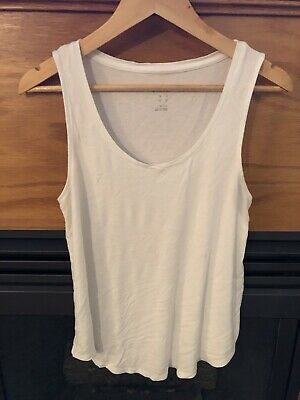 7616edc5c3 A NEW DAY Women's Loose Tank Top White Size Medium - $4.99 | PicClick