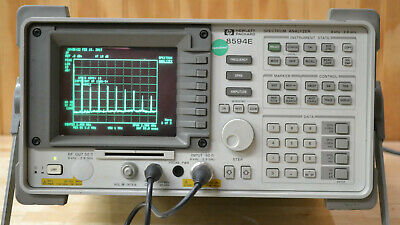 HP 8594E Spectrum Analyzer 9khz-2.9GHz opt 004, 021, 105 Tested GOOD