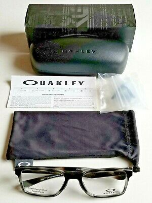 8c008aa12b Brand New Men s Oakley FIN BOX Pol. Grey Tortoise Prescription Eyeglass  Frames