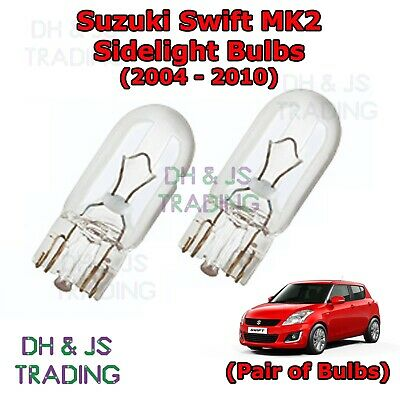 Vauxhall Meriva MK1//A Disco Rainbow LED /'Trade/' Wide Angle Side Light Beam Bulbs