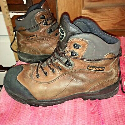 "851bd76c50f LACROSSE 10.5W STEEL Toe EH-rated brown Leather Boots 6"" Insulated ..."