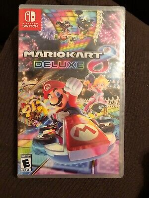 Nintendo Switch Mario Kart 8 Deluxe Game Brand New Never Opened Still Sealed!!🔥