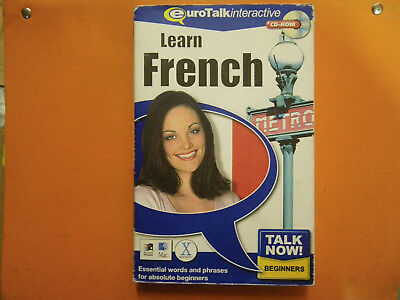 Talk Now! French Eurotalk Interactive - Computer software course
