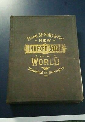 Rand McNally & Co.'s New Indexed Atlas of the World (1887)