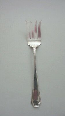 Durgin-Gorham FAIRFAX Sterling Silver Meat Fork, Splayed Tines, 65 grams