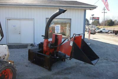 """Bearcat 74500 Wood Chipper, 5"""" Feed, Skid Steer Quick Attach, Hydraulic Driven"""