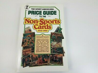 1930 - 1960 Non-Sports Cards Americana Price Guide Book 2 - First Printing 1993