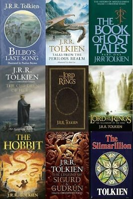 J.R.R. Tolkien Retail eBooks Collection in EPUB/Kindle/'PDF Formats