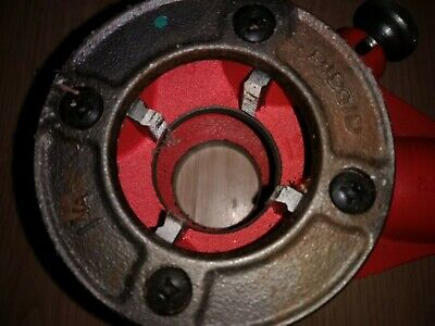 RIDGID Pipe NPT 1 and 1/4 die with 12-R-T2 rachet