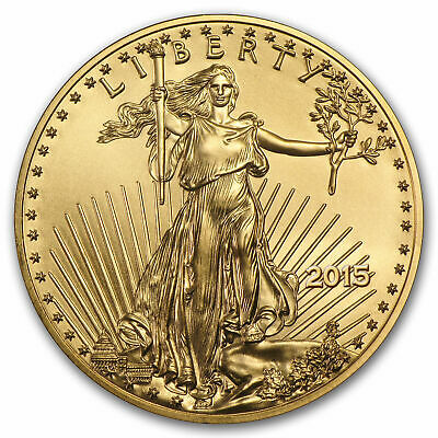 2015 1/10 oz Eagle gold coin BU