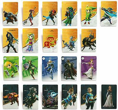 22Pcs NFC Game Cards for Nintendo Switch The Legend of Zelda BOTW  Leather Case