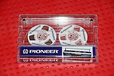 "Unique Custom-Made ""Pioneer""     New Blank Cassette Tape (1)"