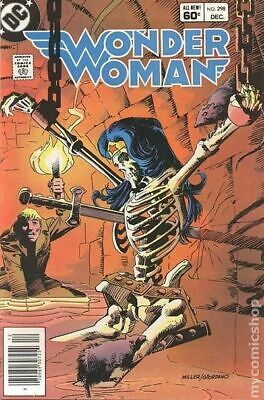 Wonder Woman (1st Series DC) #298 1982 FN Stock Image