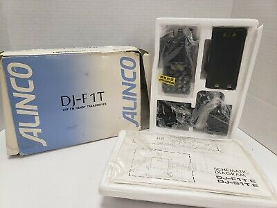 Alinco 2 Meter 5-Watt VHF FM HANDY WALKIE Model DJ-F1T Vintage NEW IN BOX