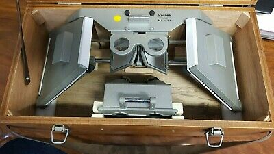 Sokkia Stereoscope MS27 with TRA2 Track attachment