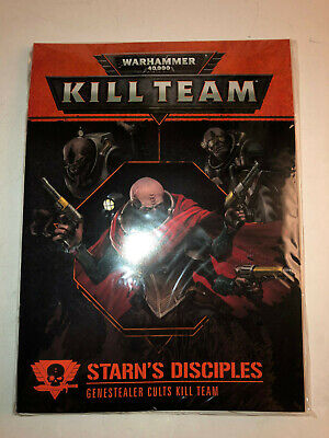 Warhammer 40000 40k Kill Team Starn's Disciples Rules & Cards sealed 21119 A