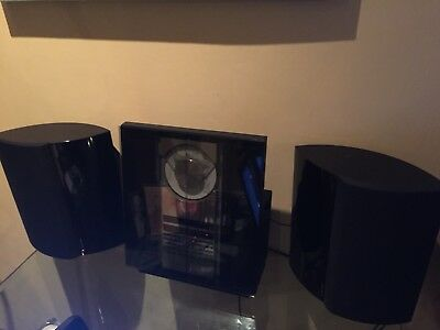 Bang & Olufsen Beocenter 2300 MK2 & 2x Beolab 4000 Speakers Black