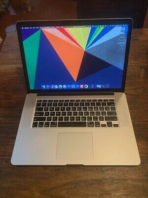 Apple MacBook Pro 15 Retina Laptop 2014 i7 2.5ghz 16gb 512gb - Scratched screen!