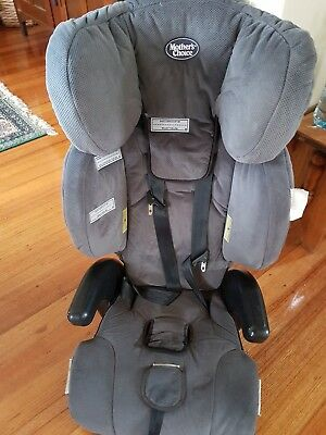 Mothers Choice  Booster / Saftey/ Car Seat - Charcoal Very comfortable