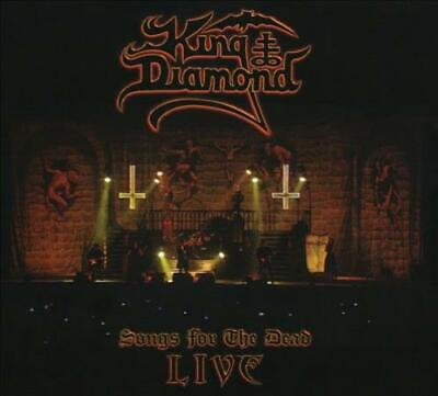 King Diamond - Songs For The Dead Live (Cd+2 Dvd) Used - Very Good Cd
