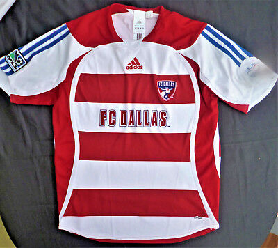 Trikot adidas FC Dallas MLS Major League Soccer Gr.164 Rot / Weiß -ORIGINAL