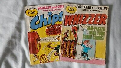 WHIZZER and CHIPS comic library (2 issues) Nos 2 and 9
