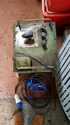 Vintage Oxford 140 Amp Oiĺ Cooled Arc Welder Electric