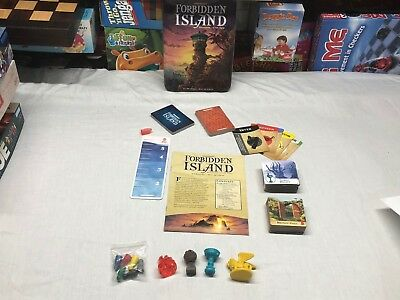 Gamewright FORBIDDEN ISLAND Replacement Game Pieces /Parts- great for crafts too