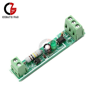 AC 220V 1-Bit Optocoupler Isolation Module Voltage Adaptive Detect Board for PLC