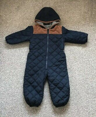 All In One Padded Winter Suit From Next, Age 2/3 Yrs