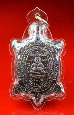 OLD COIN LP LIW WAT LRITHANGTHONG Waterproof Plastic thai buddha amulet