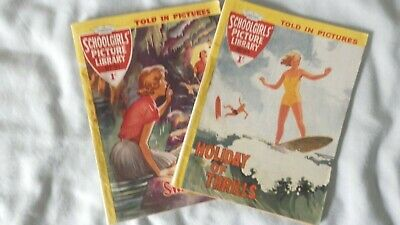 SCHOOLGIRLS PICTURE LIBRARY 2 issues Nos 91 and 94 (1960)