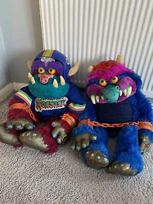 MY PET MONSTER PLUSH TOY AMTOY VINTAGE PET MONSTER My Football Monster