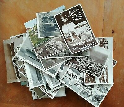Job Lot Of 47 Old Vintage Picture Postcards Mix Of Various Subjects
