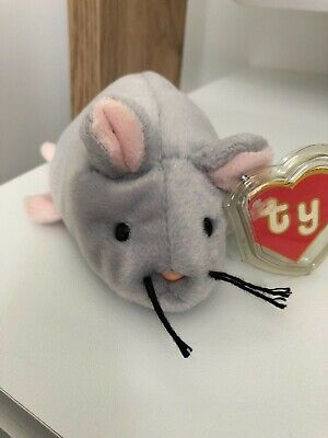 TY BEANIE BABY - TRAP AUTHENTICATED 2nd gen HANG TAG 1st genTUSH TAG ULTRA RARE