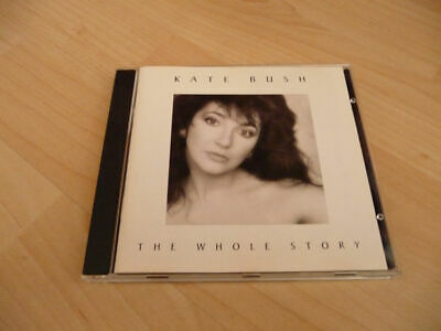 CD Kate Bush - The whole Story - 1986 - 12 Songs - Best of incl. Running up that