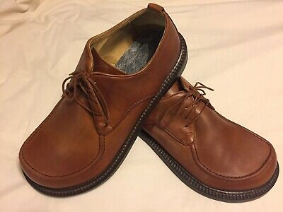 a1bf39678b64 Betula Birkenstock Mens size 10.5 US 44 EUR Leather Lace Up Loafers Casual