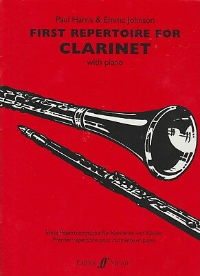 First Repertoire For Clarinet With Piano Book One
