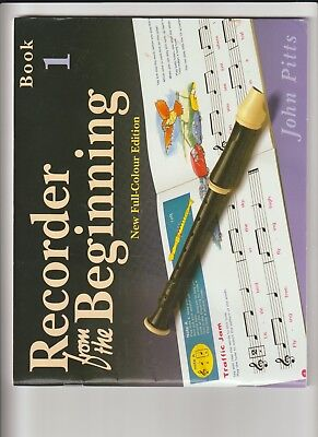 Recorder From The Beginning John Pitts Book 1