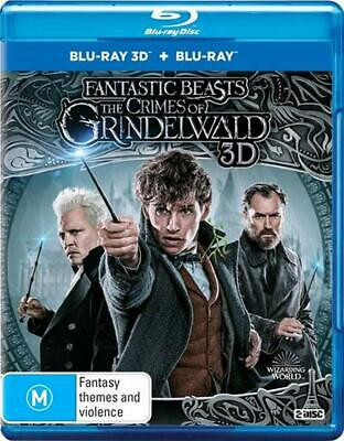 Fantastic Beasts - Crimes Of Grindelwald, The | 3D + 2D Blu-ray - Blu Ray Region