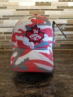 51a0a5c2ac8 Tim Hortons Pink Camouflage Baseball Cap Hat New With Tags