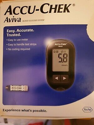 ACCU -CHEK Aviva monitoring system  used a handful of times