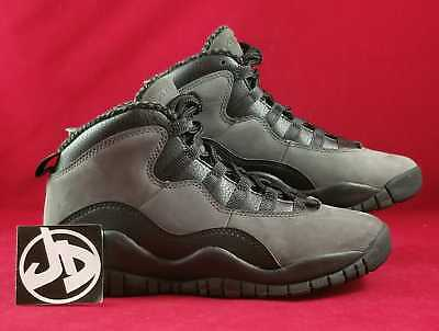 new product a5d93 6a7dd Nike Air Jordan 10 Retro Bg Shadow Grey Basketball Shoes ( 310806 002 )  Size 4Y