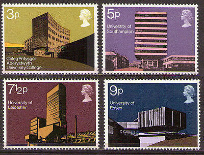 GB 1971 Commemorative Stamps~Universities~Unmounted Mint Set~UK Seller